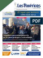Portada 26 Enero 2021 Diario Las Américas