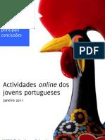 Actividades Online dos Jovens - Sintese das principais Conclusões_Janeiro 2011