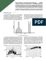 Intermodulation Phase Noise & Dynamic Range (Plessey AN156-2)