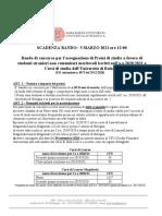 BANDO MERITO NON COMUNITARI 2020-2021