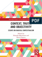 Context, Truth and Objectivity