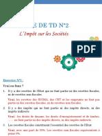 Série de TD N°2-IS