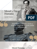 Moral y Ética Humana