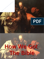 How We Got the Bible 2 - Version 2.0
