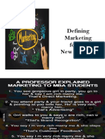 Module 1 - Defining Marketing for the New Realities