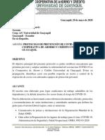 Informe de Protocolo Coopug