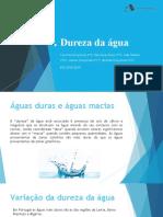 Apresentação 3 1 DUREZA DA AGUA FQ