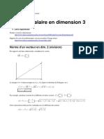 ProduitScalaire3D