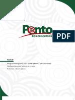 Aula 5 Lingua Portuguesa Para a PRF Teor (1)