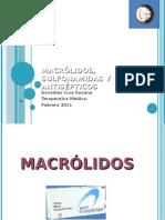 MACRÓLIDOS, SULFONAMIDAS Y ANTISÉPTICOS