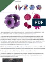 Proactive Art - Hyperbolic Crochet Coral Reef
