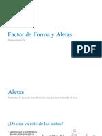 Preparaduría IV - Conducción Bidimensional (Factor de Forma) y Aletas