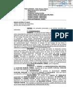RESOLUCION JUDICIAL DE CESE DE REPRESENTACION