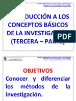 Manual de introducción a los conceptos básicos de la investigación - Tercera Parte