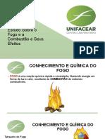 Estudo Sobre o Fogo e a Combustão e Seus Efeitos