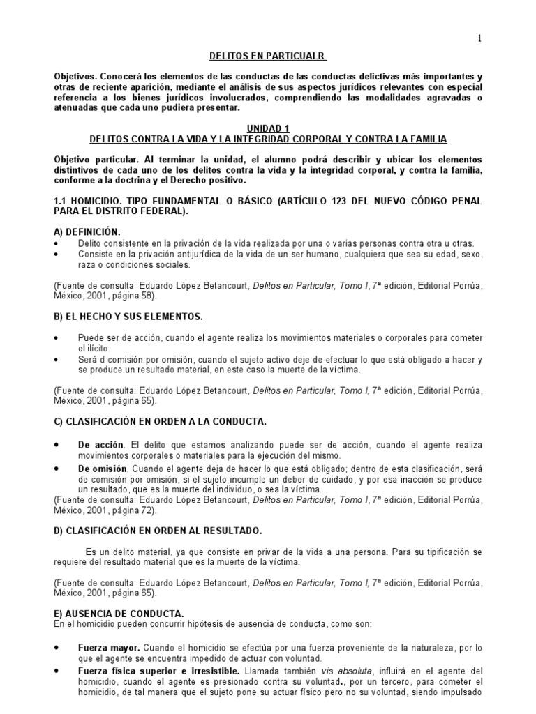 Guia delitos en particualr fandeluxe Image collections