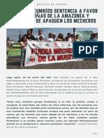 Boletin de Prensa Mecheros 1
