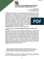 EVOLUÇÃO DO PROJETO DE REFRIGERAÇÃO PARA VENTANEIRAS UTILIZANDO SIMULAÇÃO CFD