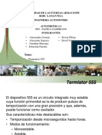 TERMISTOR 555 GRUPO 2