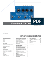 Tc Electronic Flashback x4 Delay Looper Manual German