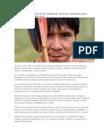 La resistencia militar de los indígenas tacticas