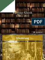Weimarer Klassik (1)