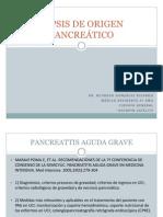Sepsis de Origen Pancreático