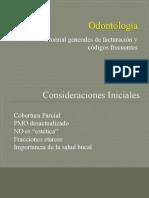 Odontología - Facturacion