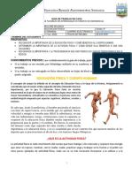 EDUCACION FISICA - GRADO SEXTO