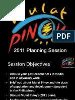 Mulat Pinoy Planning Session Presentation