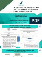 Paparan Rapat Koordinasi Pengawasan Pelaksanaan Vaksinasi-Irtama BPOM
