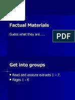 Factual Materials (Pompeii)