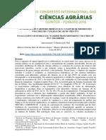 Avaliação Do Carneiro Hidráulico a Partir de Diferentes Volumes de Câmaras de Ar Do Tipo Pvc