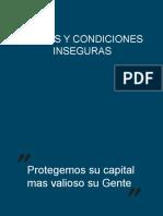 CAPACITACION ACTOS Y CONDICIONES