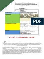 ACT 7 MANDALAS Y TEORIA DEL COLOR ARTISTICA DECIMO GRADO PER. 3