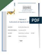 Sánchez Macedo Luis Informe 2 Laboratorio Ingenieria de Materiales