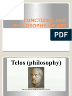 Functions and Philosophy of Art
