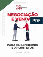 eBook Negociacao e Vendas Para Engenheiros e Arquitetos Vinicius Lorenzi