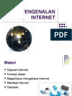 Pertemuan 1 - Pengenalan Internet