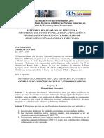 Providencia Administrativa 071 VERSION SENIAT
