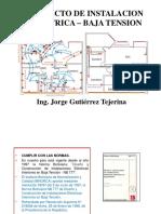 1.1-Proyecto de Instalacion Electrica - Elt 278_2019