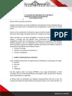 Mensaje a la Nación 26.01.21