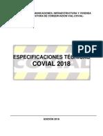 Especificaciones Tecnicas Covial 2018 2112017