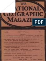 National Geographic 1901-02