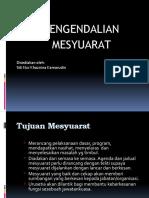Prosedur Pengendalian Mesyuarat
