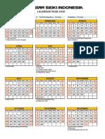 SIN Calendar 2020 (rev December)