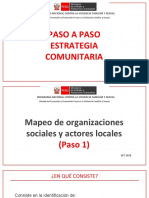 3. Paso a Paso Estrategia Comunitaria