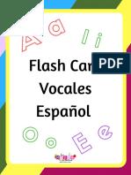 Flash Card de Vocales