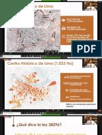 FORO DEL CENTRO HISTORICO DE LIMA