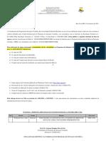 edital 02 - segunda chamada da lista dos remanescentes pibic-cnpq 2020-2021